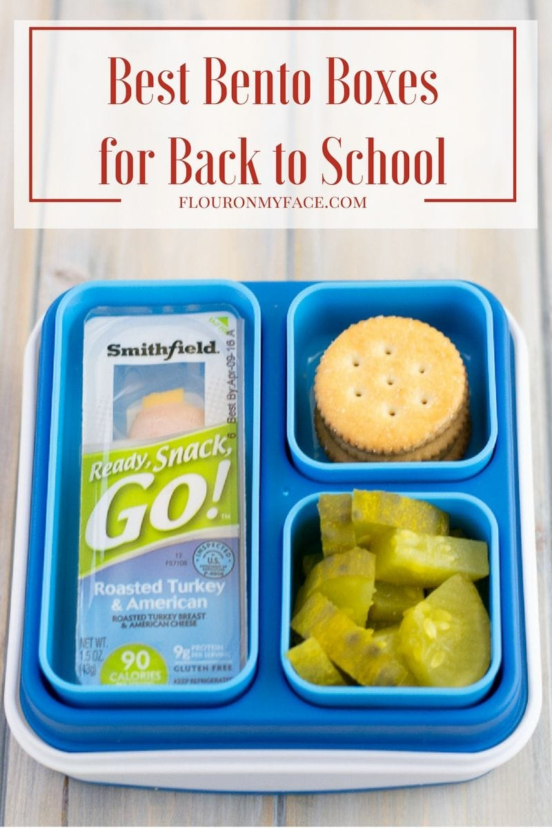 Best Bento Boxes for Back to School lunches #ad
