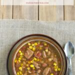 Crock Pot Southwestern Pork Stew