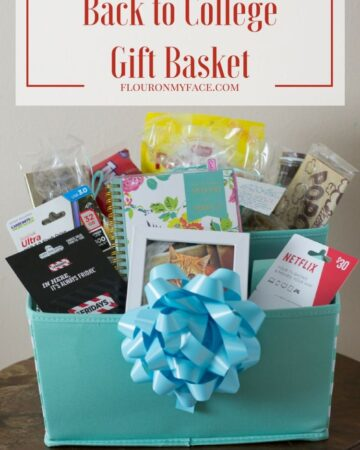 DIY Back to College Gift Basket ideas with @giftcardmall #ad