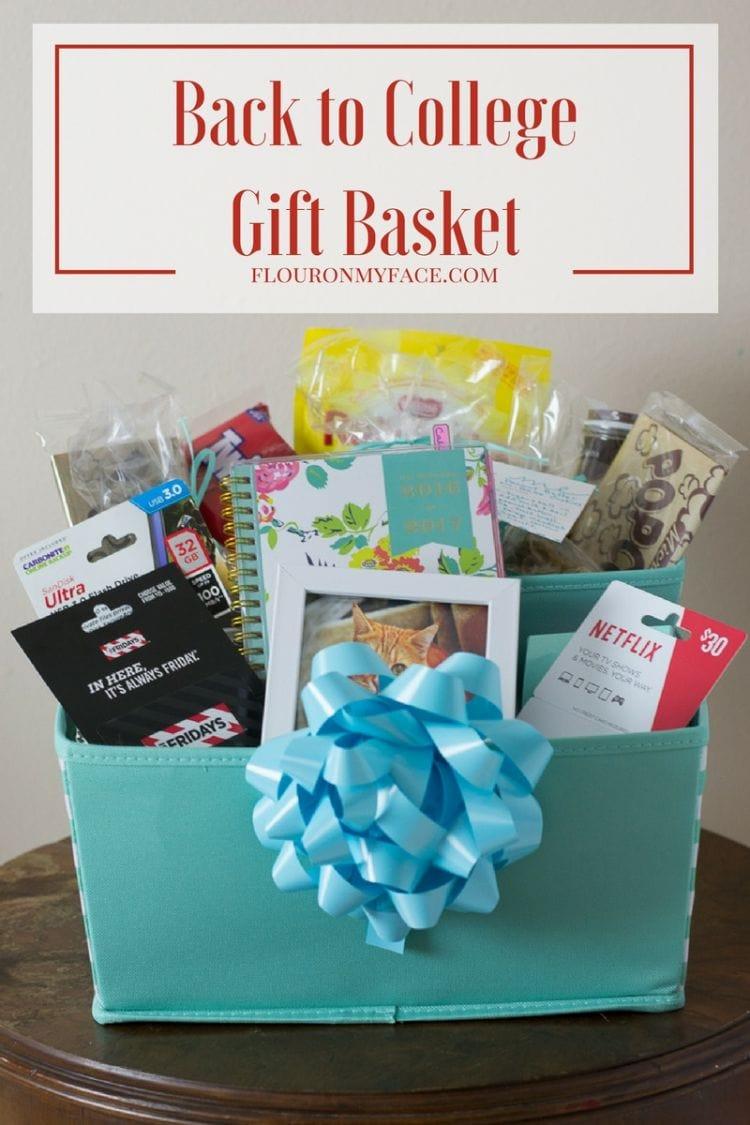 DIY Back to College Gift Basket ideas with @GCMall #ad #BackToSchool #GiftCardMall #GCMallBTS