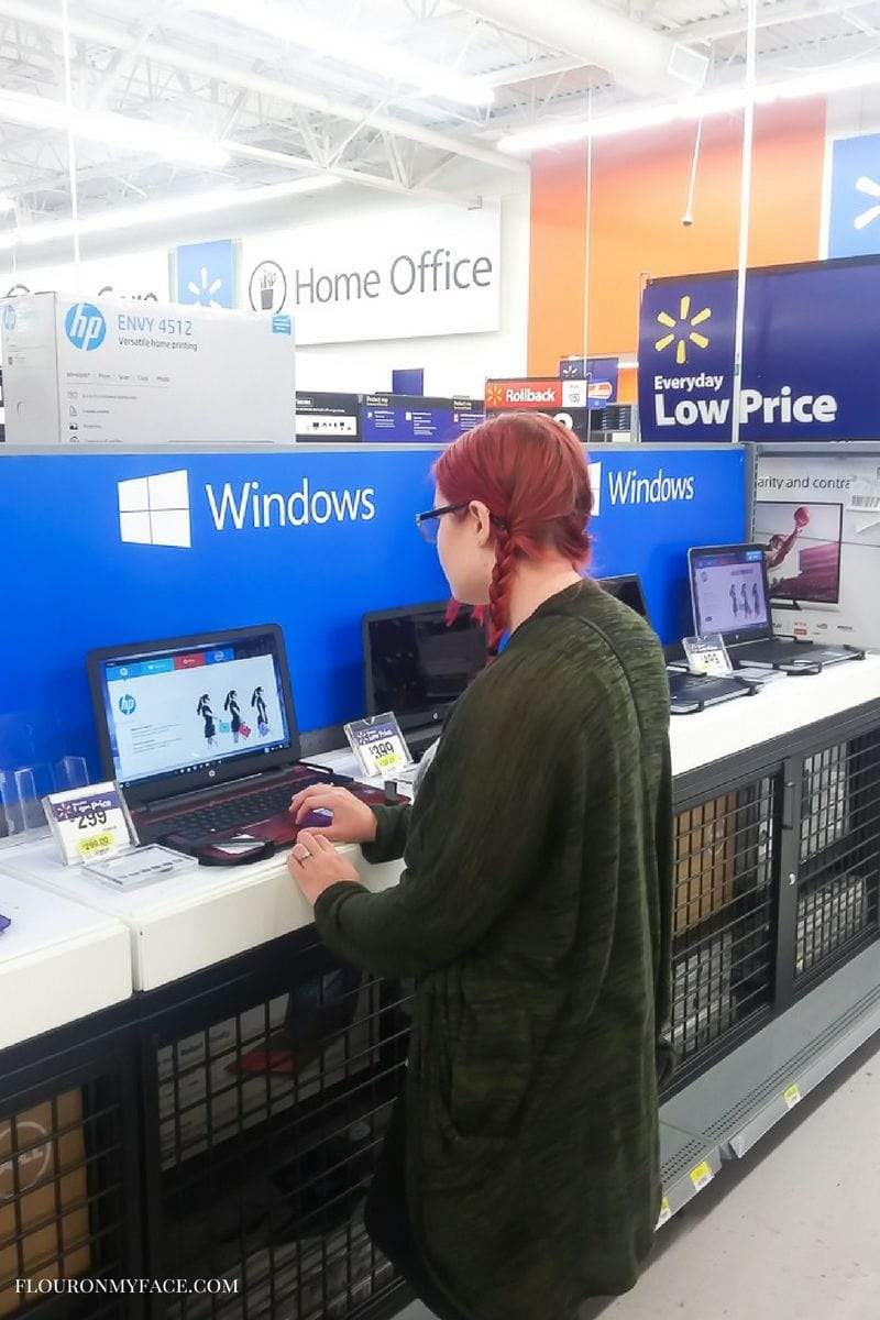 Find the best prices on HP Laptops at Walmart #ad #BTSwithHP via flouronmyface.com