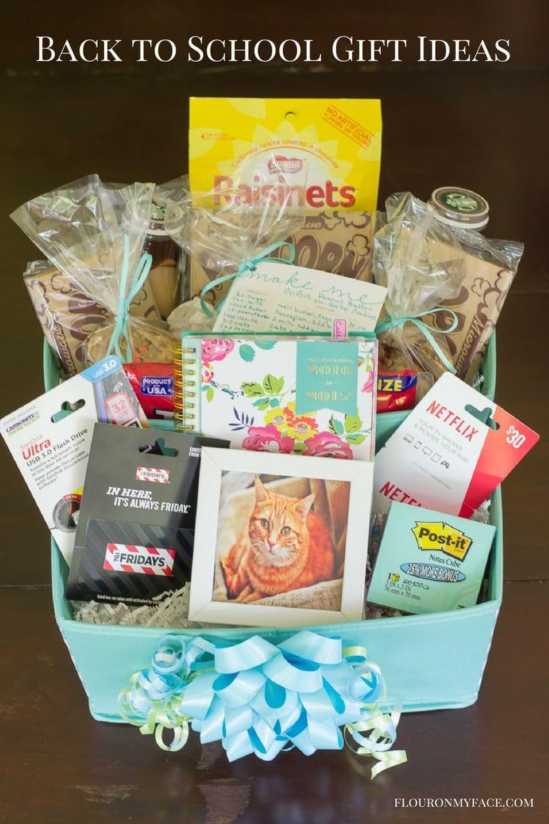 Diy Back To College Gift Basket Giftcardmall Gcmallbts Flour On