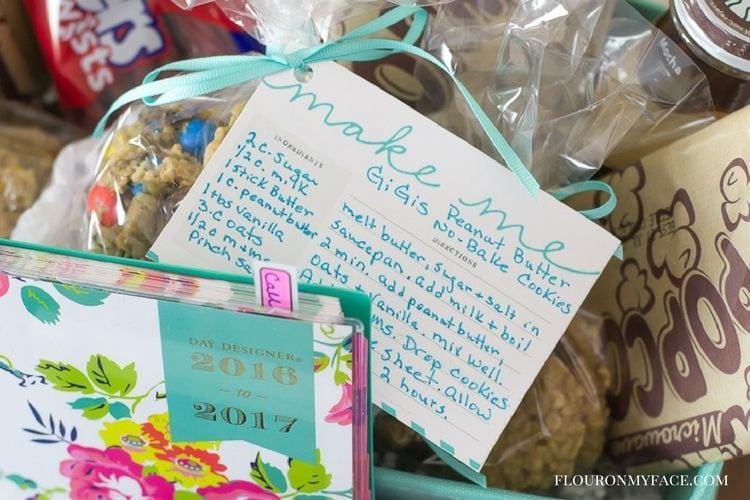 easy College Gift Basket ideas via flouronmyface.com