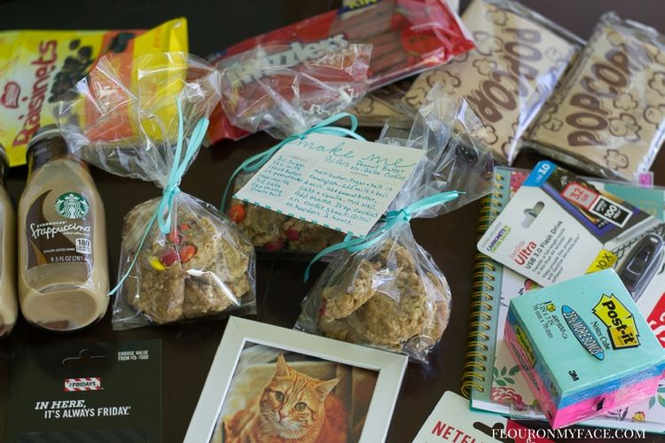gift basket filling ideas for back to school via flouronmyface.com