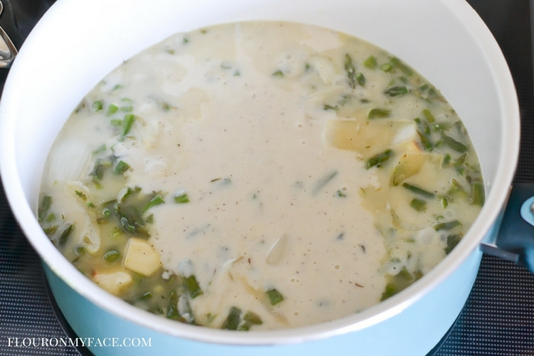 How to make creamy soups with my secret recipe via flouronmyface.com