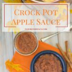 Crock Pot Apple Sauce recipe using Gala apples via flouronmyface.com