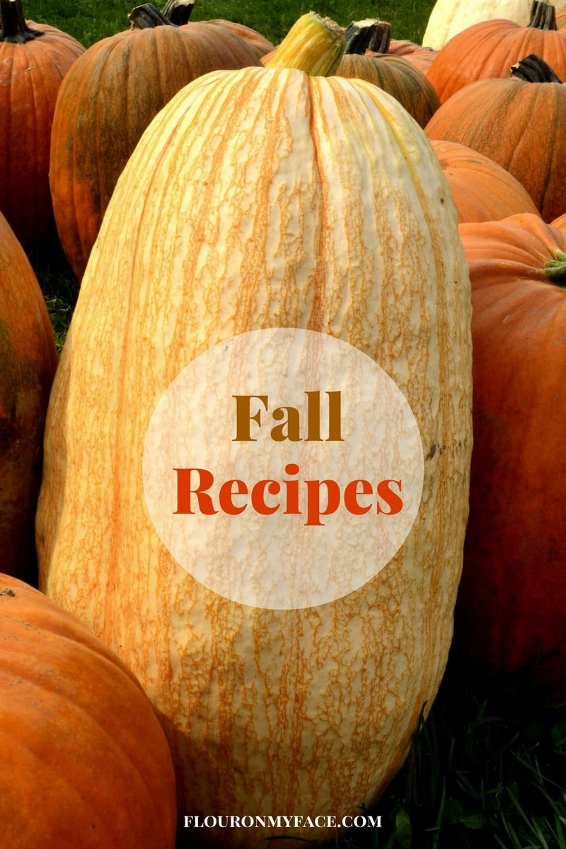 Fall recipes via flouronmyface.com