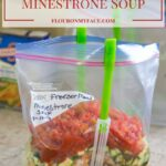 Freezer Meals Minestrone Soup