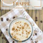 Pumpkin Spice Frappe #DairyEnvy