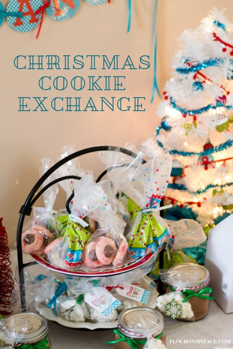 Christmas Cookie Exchange Table Decor