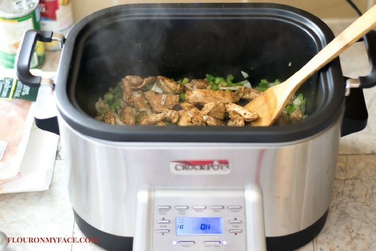 brown and slow cook in the new Crock Pot Multi-Cooker via flouronmyface.com