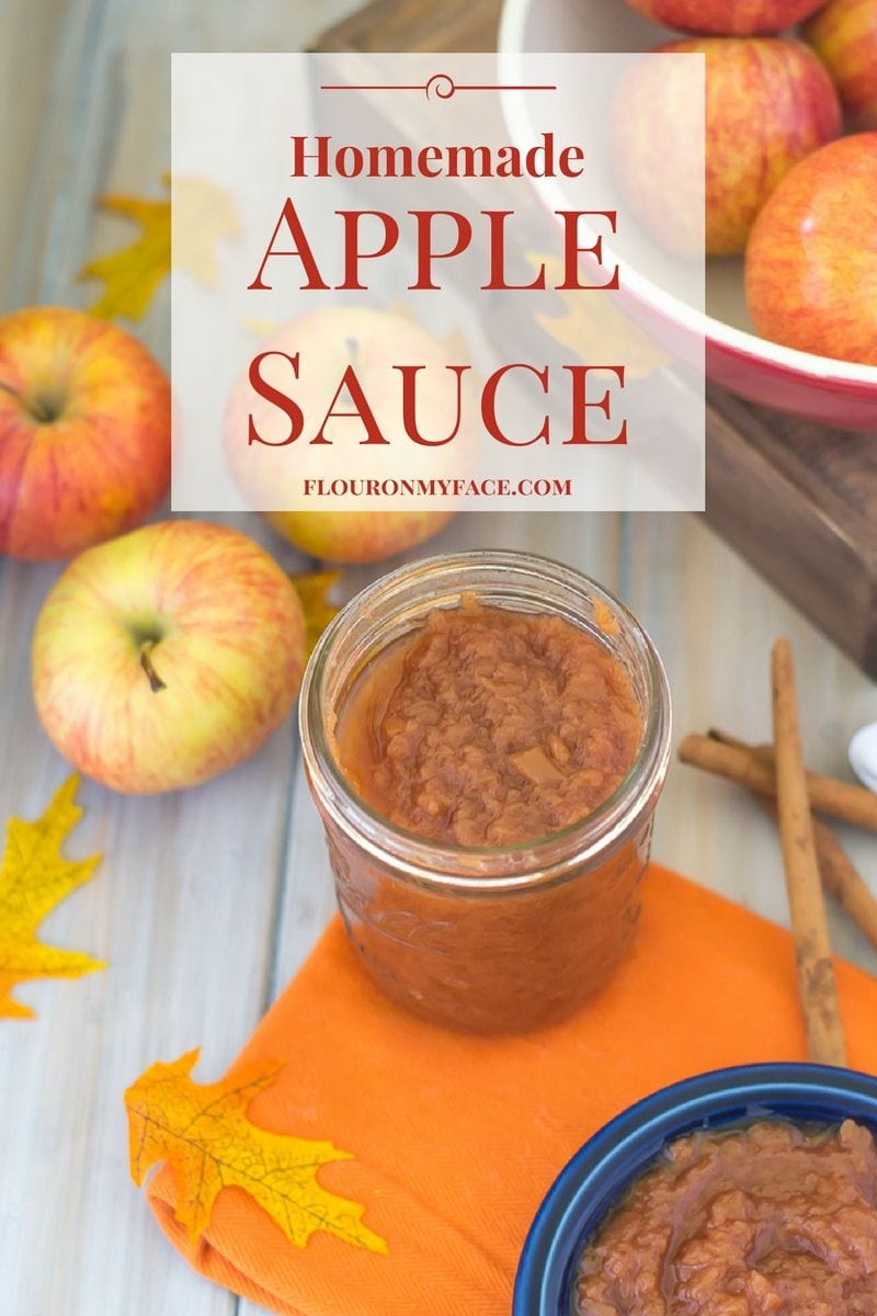 The easiest way to make homemade apple sauce is to make it in the crock pot slow cooker via flouronmyface.com