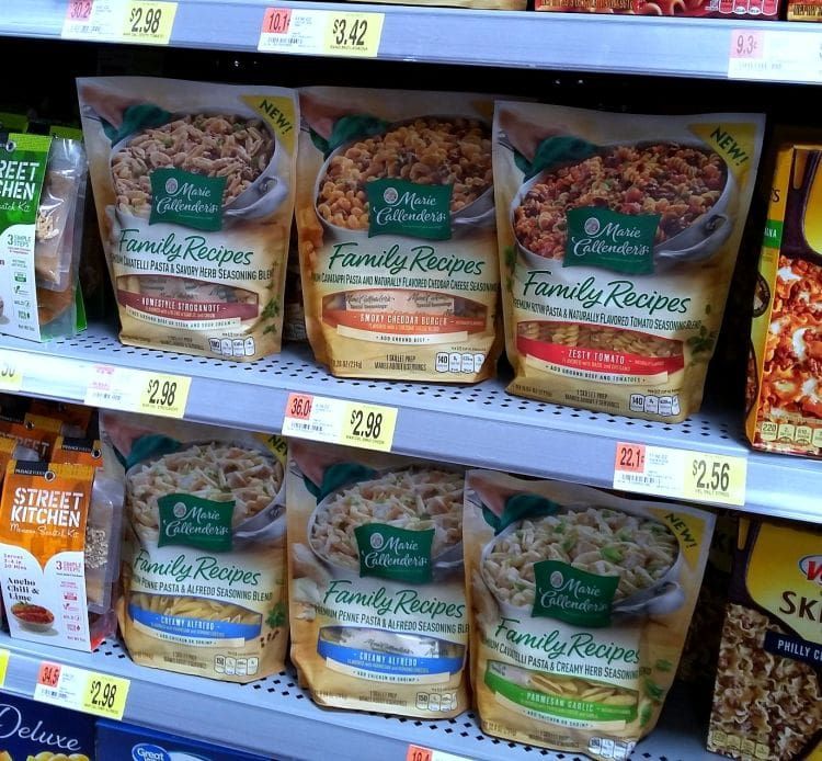 Marie Callenders new dry mix meal kits available at Walmart via flouronmyface.com #ad #MarieFreshTake #MarieFreshTakeSweeps