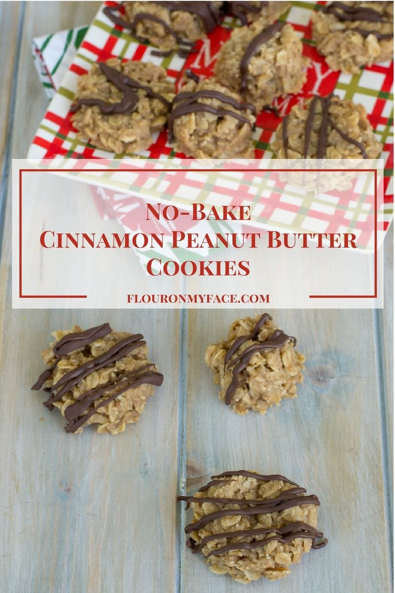 No Bake Peanut Butter Cookies Flour On My Face