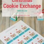 Christmas Cookie Exchange Thank You Gift Tags