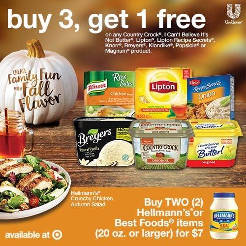 Target Buy 3 Get 1 Free Deal via flouronmyface.com