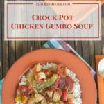 Crock Pot Chicken Gumbo Soup