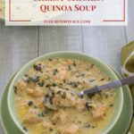 Crock Pot Cheesy Chicken Quinoa Soup