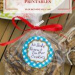 Easy Cookie Exchange Packaging Free Printable Round Labels