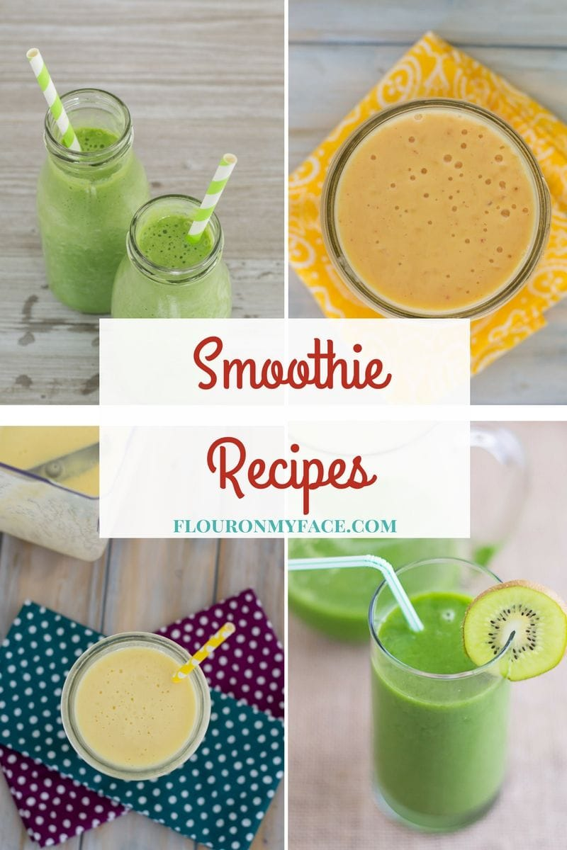 smoothie Recipe page via flouronmyface.com