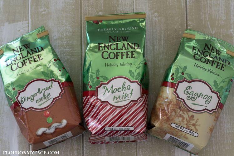 New England Coffee holiday blends via flouronmyface.com #ad #YouAreExtraordinary #NewEnglandCoffee