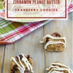 No-Bake Cinnamon Peanut Butter Cranberry Cookies