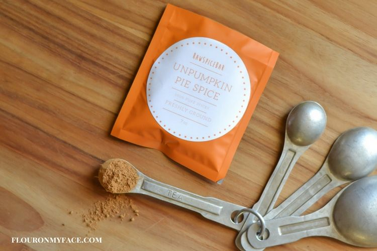 RawSpiceBar UnPumpkin Pie Seasoning recipe via flouronmyface.com