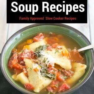 25 Crock Pot Soup Recipes: Family Approved Slow Cooker Recipes