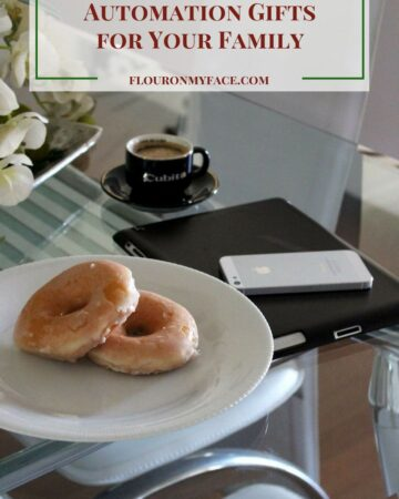 The Best 5 Home Automation Gifts for your trech savvy family via flouronmyface.com