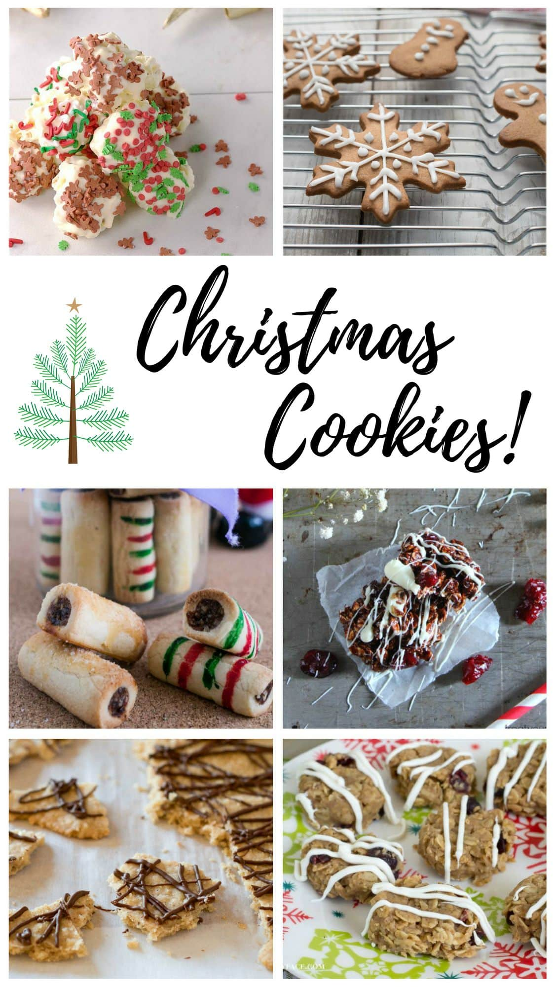 Christmas Cookie Recipe Roundup #FoodBlogGenius via flouronmyface.com
