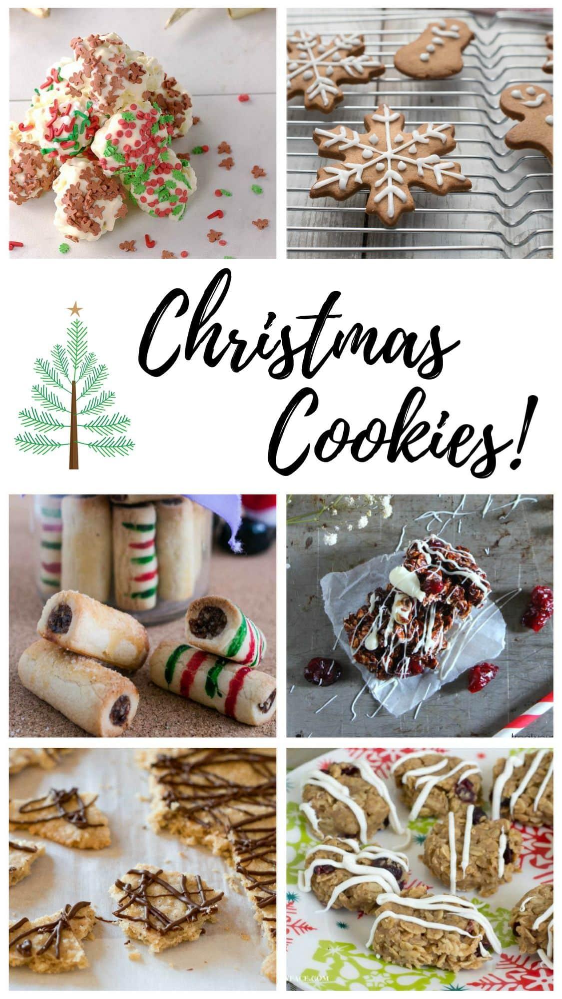 Christmas Cookie Recipe Roundup #FoodBlogGenius via flouronmyface.com