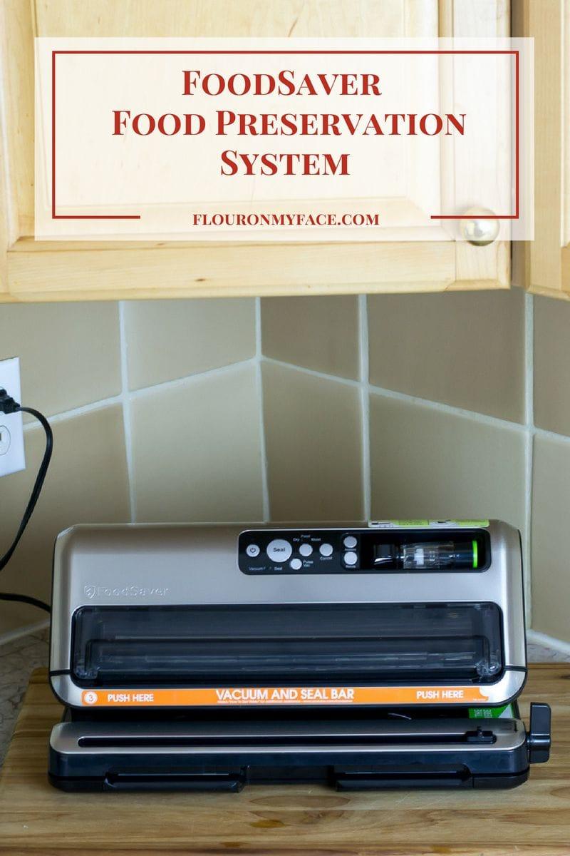 FoodSaver® FM5000 Series Food Preservation System review via flouronmyface.com
