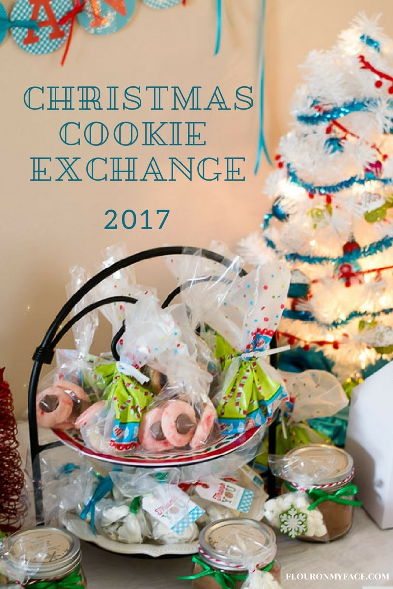 Christmas Cookie Exchange 2017 Goodie Table