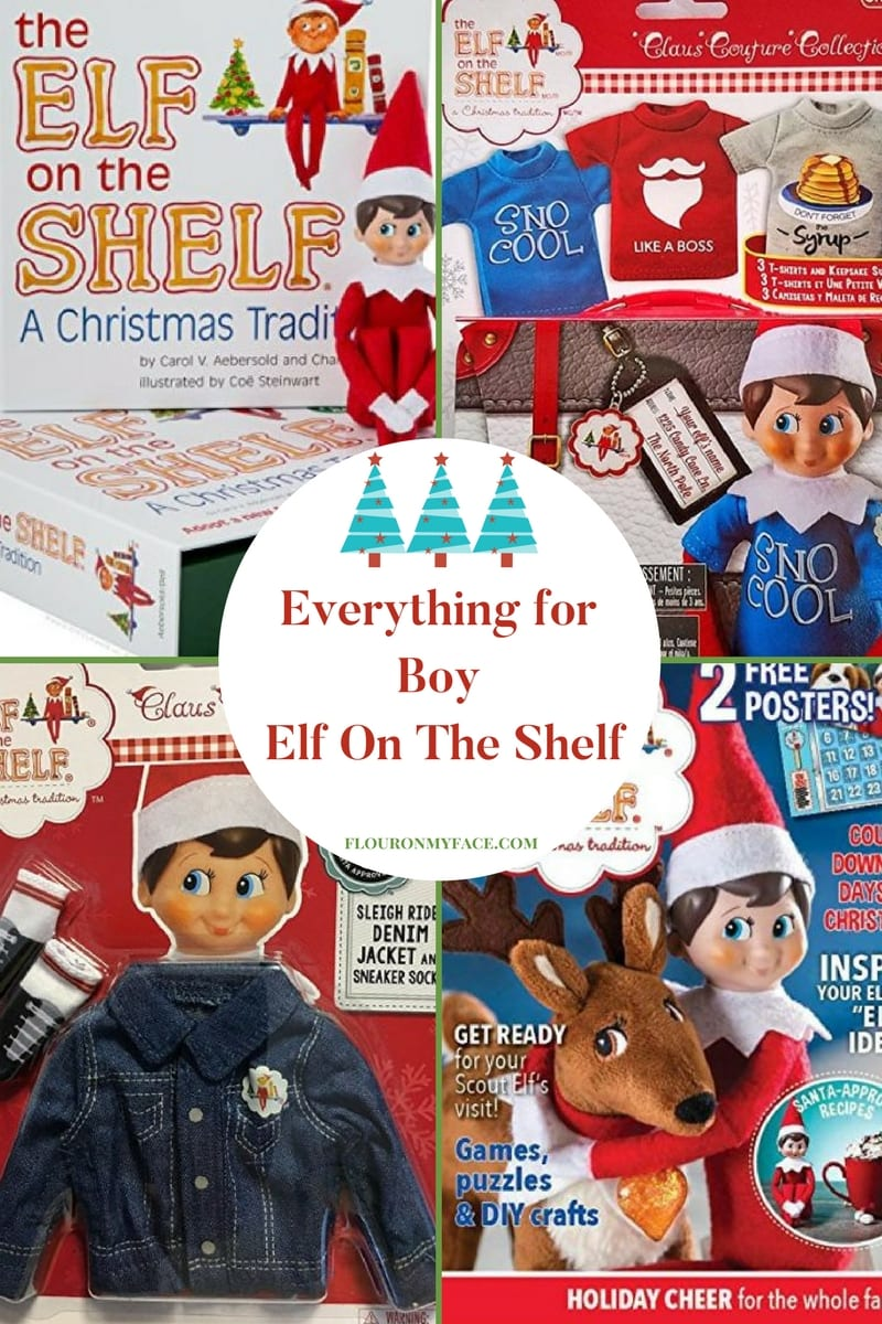 Everything for Boy Elf On The Shelf Amazon shopping list from flouronmyface
