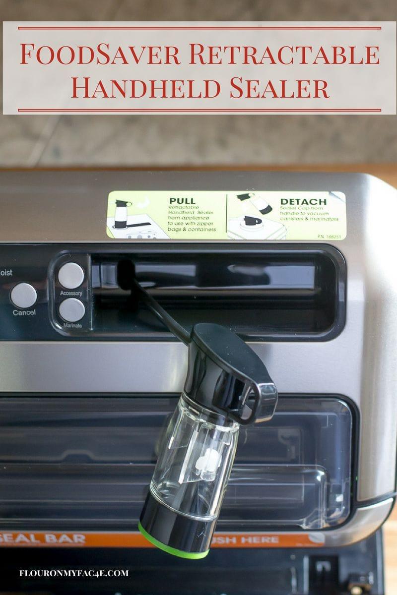 FoodSaver retractable handheld sealer via flouronmyface.com