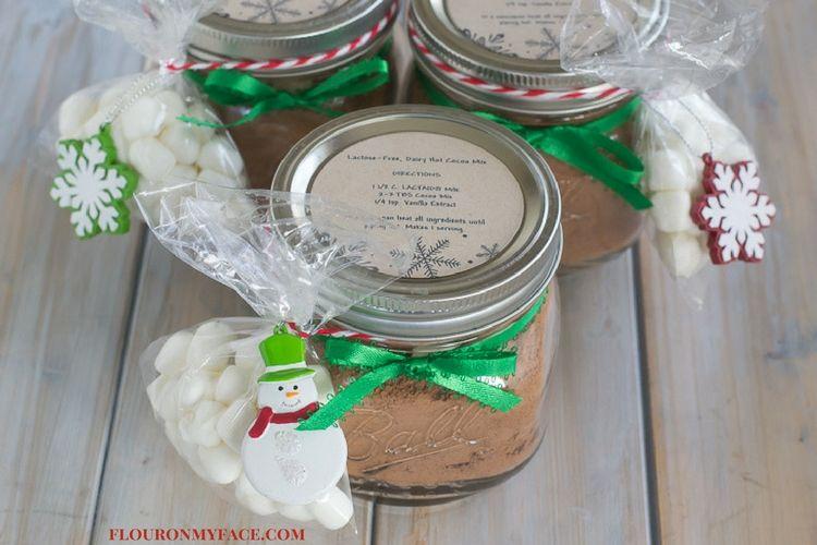 lactose free-dairy hot cocoa mix via flouronmyface.com #ad