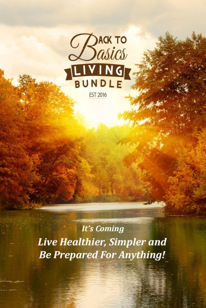 Back To Basic Living eBook Bundle via flouronmyface.com