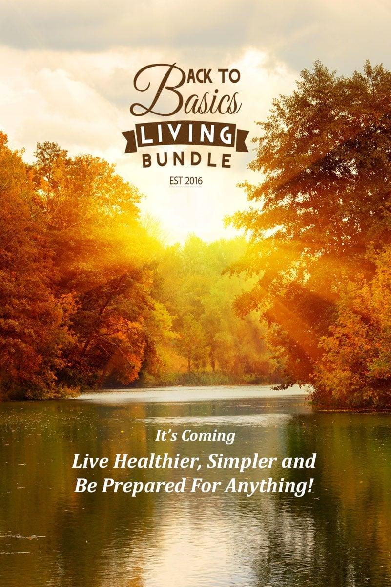 Back To Basic Living eBook Bundle via flouronmyface.com