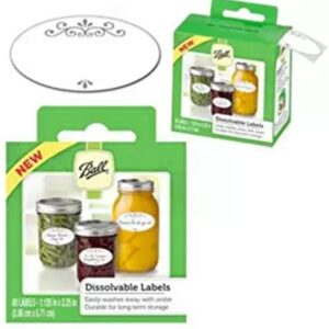 Ball Dissolvable Canning Jar Labels