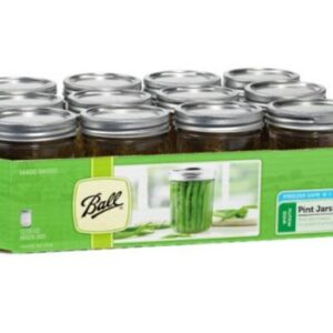 Ball Mason Wide Mouth Pint Jars