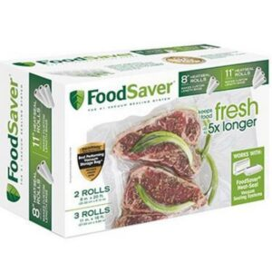 FoodSaver 8X11 Rolls, Multi Layer Multi Pack
