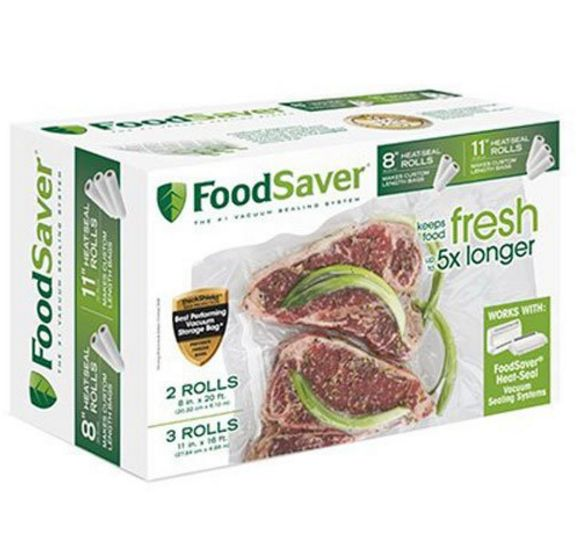 FoodSaver 8x11 Rolls-Multi Layer-Multi-Pack - Flour On My Face
