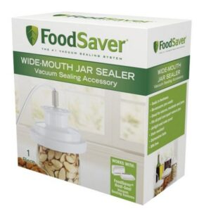 FoodSaver Wide Mouth Jar Sealer