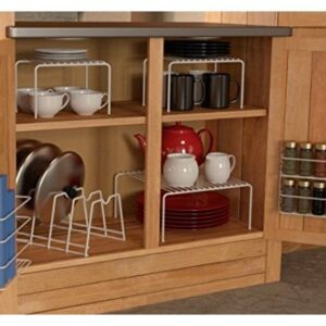 6 Pice under the Cabinet Organizer in white