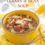 Leftover Turkey Crock Pot Three Bean Turkey Soup