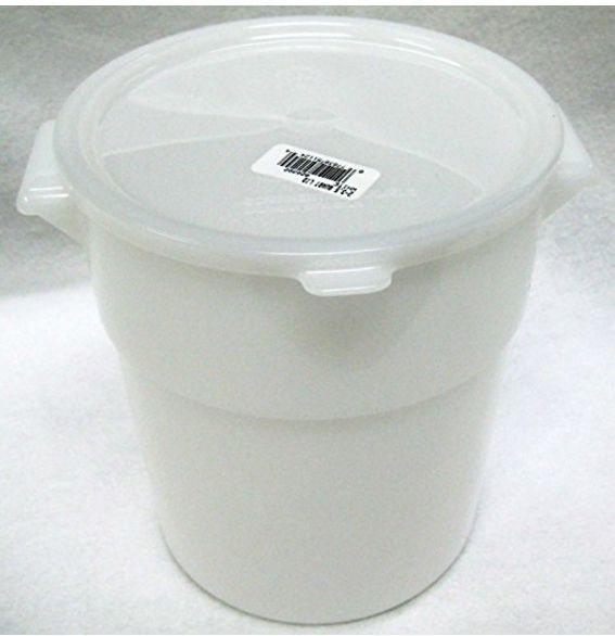 Food grade Dough rising bucket with lid