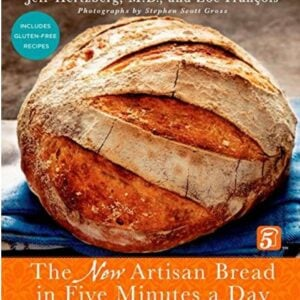 New updated Artisan Bread In Five Minutes A Day cookbook-hardcover