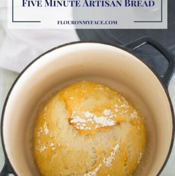 No-Knead Five Minute Artisan Bread at home