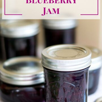 Strawberry Blueberry Jam recipe via flouronmyface.com