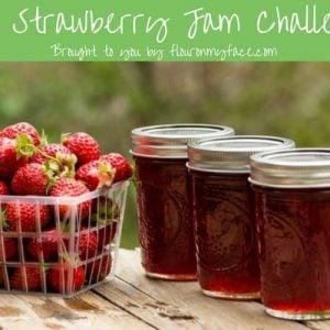 Strawberry Jam Challenge Supplies